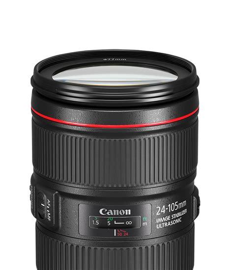 Lensa Canon Ef 24 105 F 4l Is Usm canon ef 24 105mm f 4l is ii usm objektive kamera