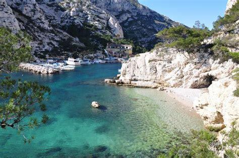 Plage Des Calanques De Marseille Cassis Et La Ciotat