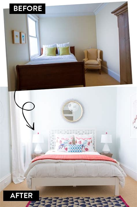 bedroom makeover before after h o u s e - Before And After Bedroom Makeover Pictures