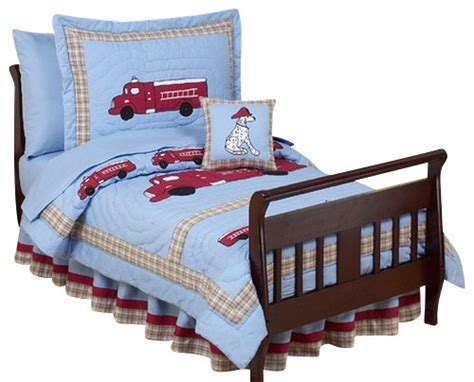 truck crib bedding fire truck toddler bedding set contemporary kids