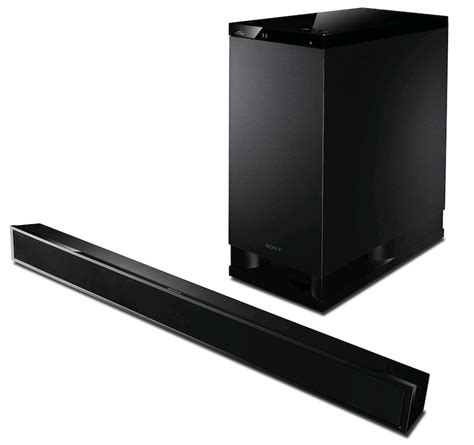 Home Bar System Sony Ht Ct 350 3d Sound Bar System 3 1 Speaker Bar Home