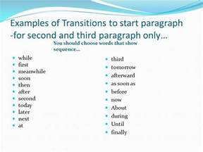 Words To Start A Paragraph In An Essay by Writing An Essay Career Fair Paper Ppt