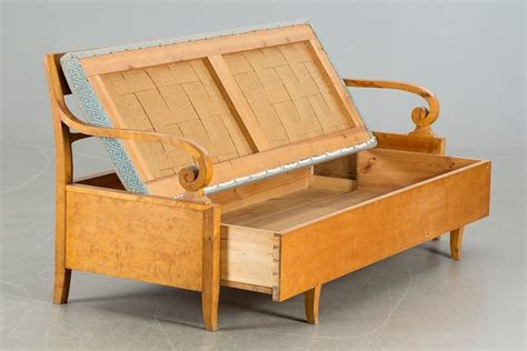 bett bank biedermeier bank bett sofa birke massiv um 1820 ebay