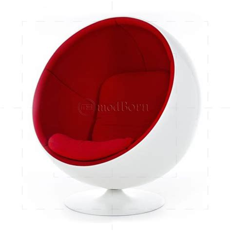 Eero Aarnio Style Ball Chair White   Replica