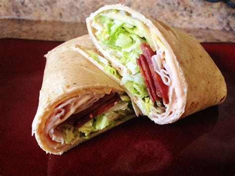 to wrap turkey club wrap recipe