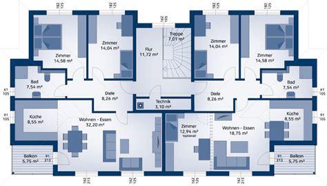 grundriss 3 familienhaus neubau haustyp mehrfamilienhaus 384 w hartl haus