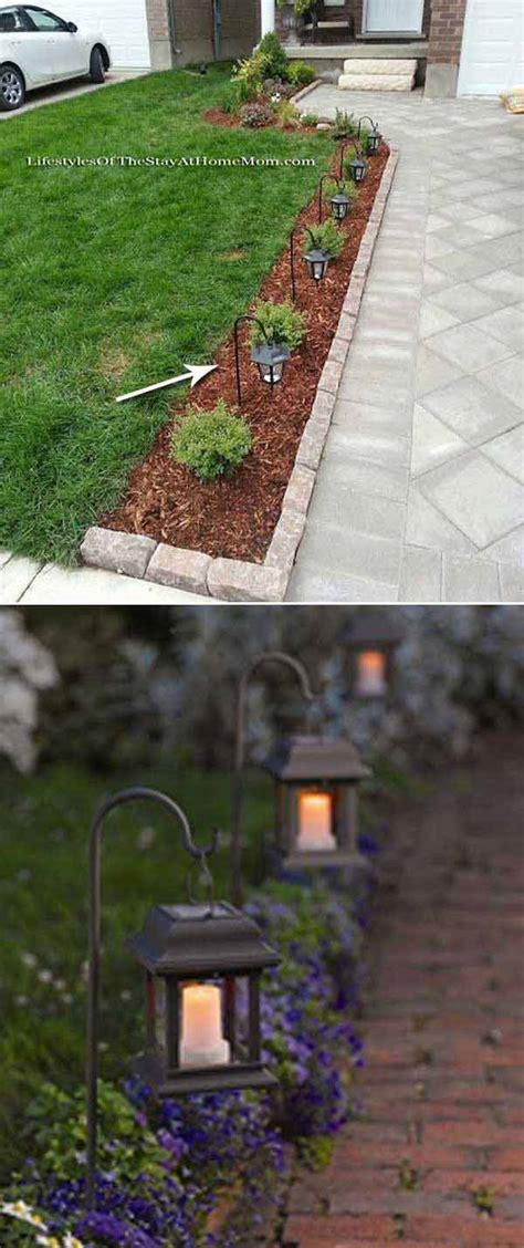diy garden lighting ideas 35 amazing diy outdoor lighting ideas for the garden