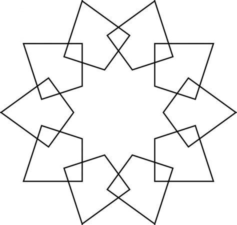islamic pattern simple easy geometric patterns to draw www pixshark com