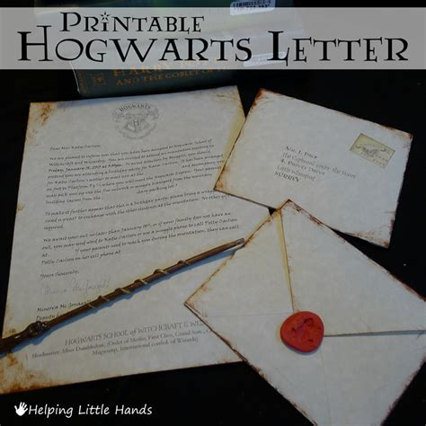 pieces polly printable hogwarts acceptance letters
