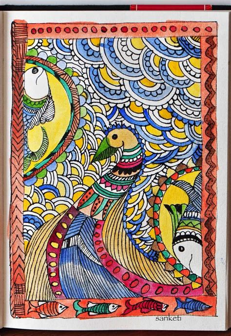 Indian Search Easy Madhubani Paintings To Draw Search