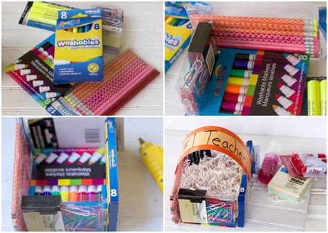 Office Supplies For Teachers Diy Easter Basket Diy Appreciation Basket