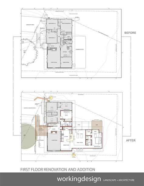 tri level house floor plans plan of floor before and after workingdesign