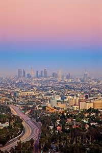 pastel sky in los angeles california
