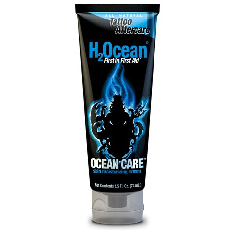 tattoo aftercare aqueous cream h2ocean tattoo aftercare cream 2 5oz