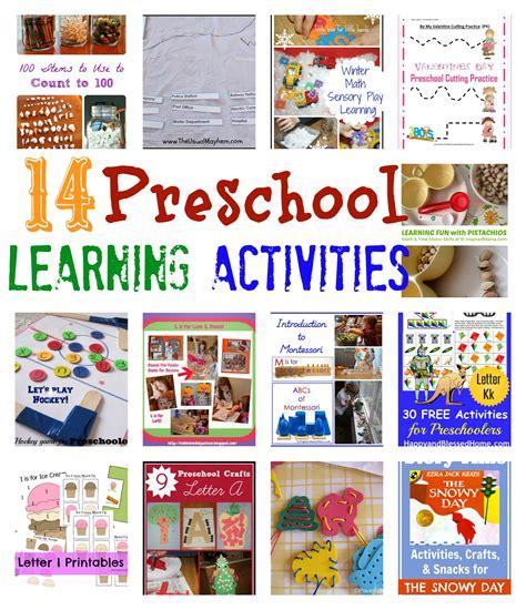 preschool activities preschool learning activities from it saturday