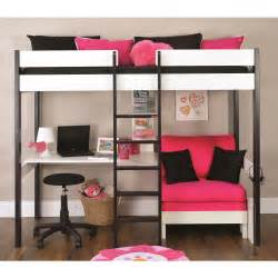 High Sleeper With Sofa And Desk Stompa Uno 5 Nero Highsleeper With Desk And Pullout Bed Next Day Select Day Delivery