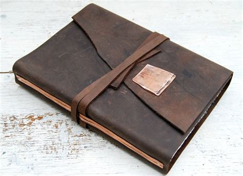 Handmade Leather Bound Journals - leather bound journal handmade adventure new orleans travel