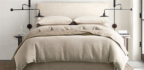 Slipcovered Headboards by Belgian Parsons Slipcovered Headboard Restoration Hardware