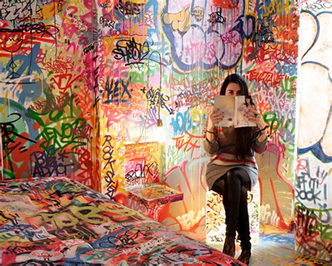 tilt panic room graffitied accommodations that don t include sleeping on the streets things