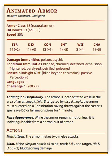 5e card template statblock5e