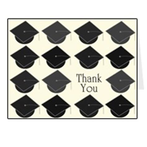 graduation thank you card templates microsoft free graduation thank you card printable template
