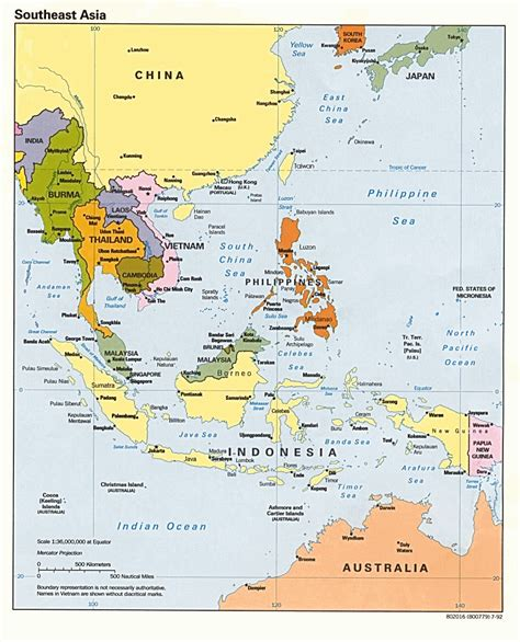 Top Mba Colleges In Southeast Asia by Map Of South Asia Political