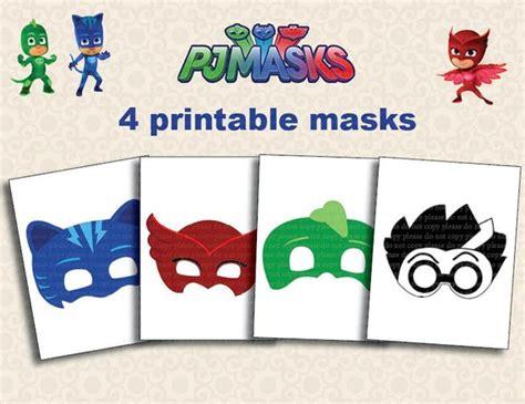Pj Mask Printable Template