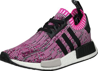 adidas nmd   pk  shoes pink black heather