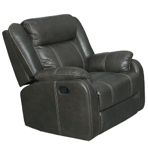 american 7303 gin rummy charcoal recliner