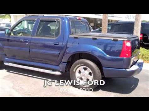 Jc Lewis Ford by 2005 Ford Explorer Sport Trac Adrenalin From Jc Lewis Ford