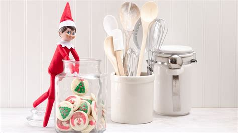 elf on the shelf cookie pan the elf on the shelf 174 and in the cookie jar pillsbury com