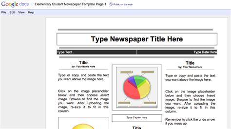 8 Best Images Of Blank Newspaper Template Pdf Free Printable Blank Lined Paper Template Blank Newspaper Template Docs