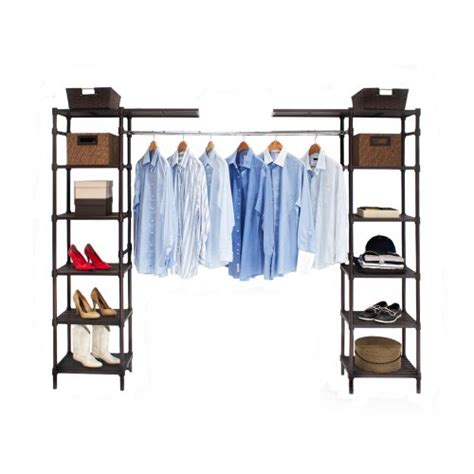 Expandable Closet Shelf by Seville Classics Expandable Closet Organizer System
