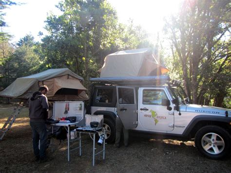 Roof Tent For Jeep Wrangler Nomad America Costa Rica Nicaragua Panama Adventure