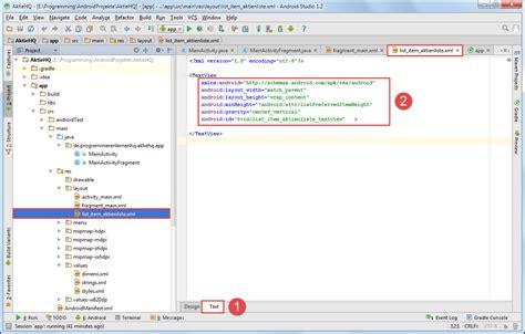 android textview android tutorial daten mit einem listview anzeigen