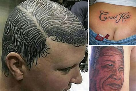 amazing pics reveal some of the worst and funniest tattoos