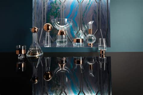 tank glass copper vases and barware from tom dixon