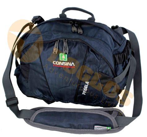 Tas Selempang Onyx Consina Travel Pouch Original jual tas pack consina pasele selempang bisa pinggang travel pouch toko doglos