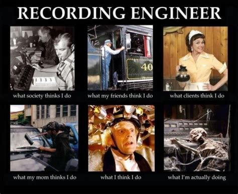 Audio Engineer Meme - student resources from brian konzelman back at the ranch