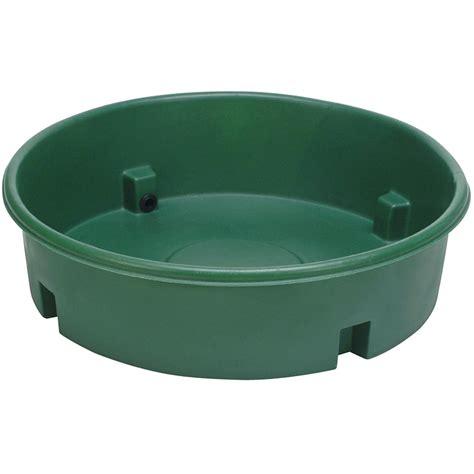 Bac A Pour Exterieur bac 224 eau pour poneys en plastique rond 400 l avec rebord
