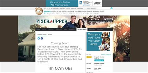 Sweepstakes Ending Tonight - enter the fixer upper ultimate escape sweepstakes tonight