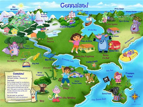 the explorer map template gennaland monday map one s worldone s world