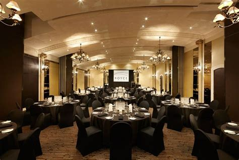 dinner venues melbourne royce grand ballroom dinner black theme royce hotel