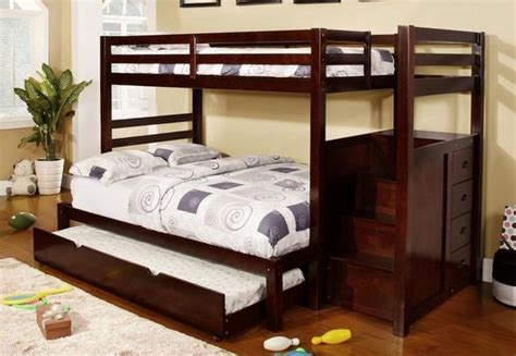 affordable  high quality espresso singledouble bunk