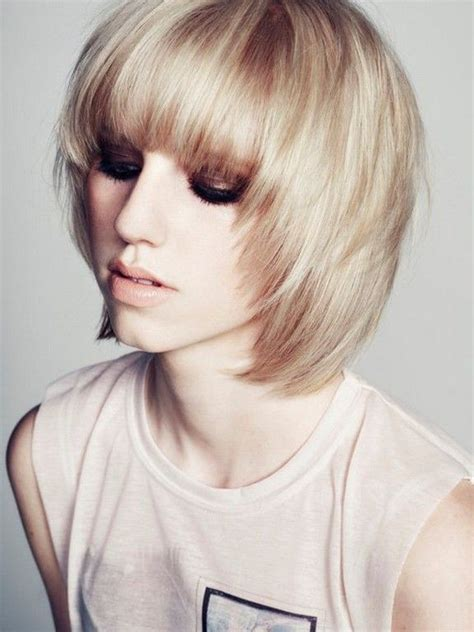 choppy bob haircut for thin hair 58 best images about hairstyles for long hair on pinterest