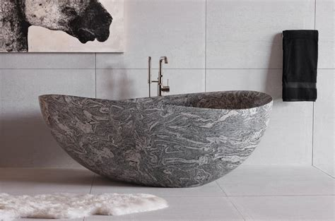 Limestone Bathtub by Papillon Bathtub Forest