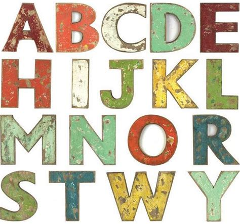 Decorative Wood Letters by Decorative Wooden Letters Decorative Alphabet Letters