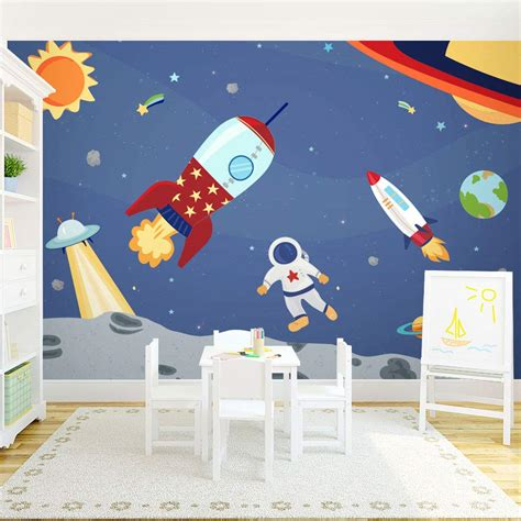 space themed wall murals space themed wall murals peenmedia