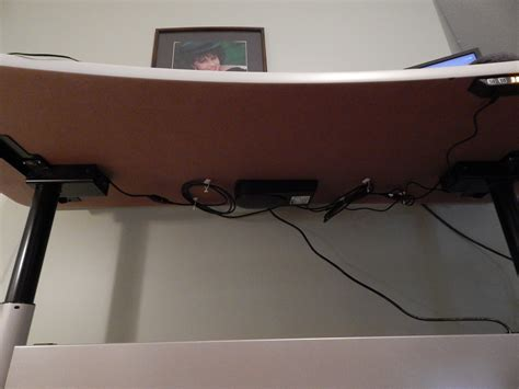 standing desk cable management the stand up desk rises to the occasion joel cochran