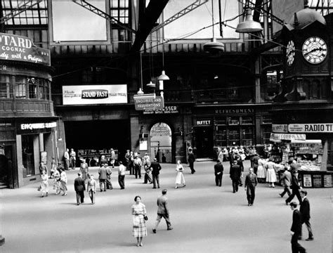 hairdresser glasgow central station theglasgowstory central station 1955